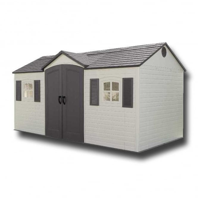 Lifetime Apex Roof Shed 15ft X 8ft