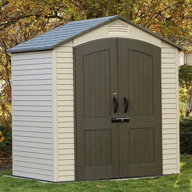 Click to view product details and reviews for Lifetime Apex Roof Shed 7ft Series.