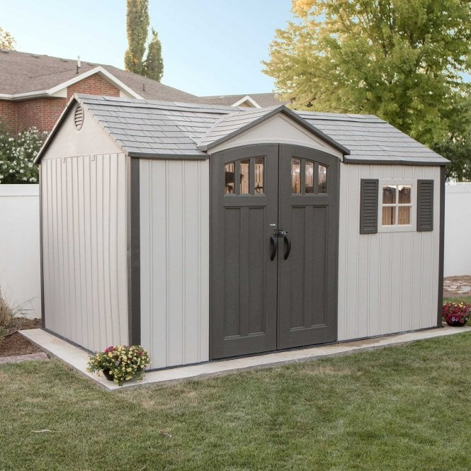 Click to view product details and reviews for Lifetime Storage Shed 125 X 8.