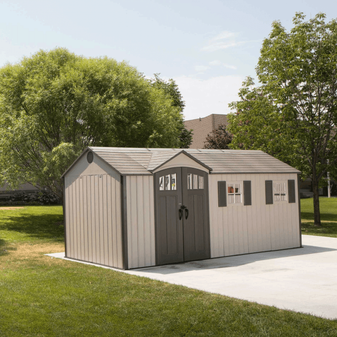 Click to view product details and reviews for Lifetime Storage Shed 175 X 8.