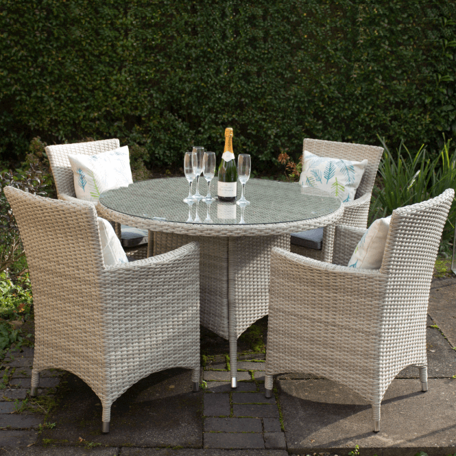 Click to view product details and reviews for Lisbon 4 Seater Dining Set.