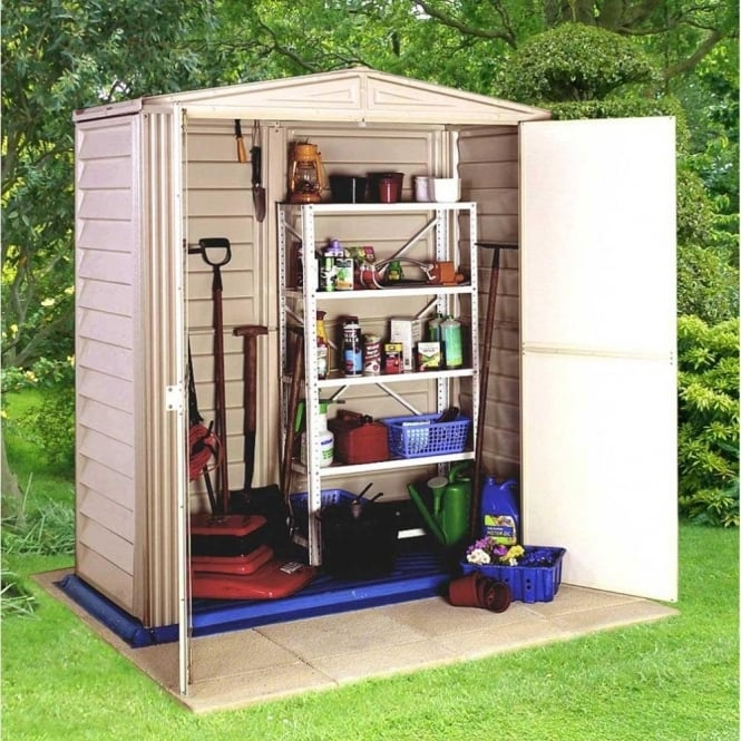 Click to view product details and reviews for Little Hut 5 X 3 Plastic Storage Shed.