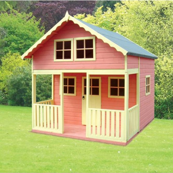 Click to view product details and reviews for Lodge Playhouse With Large Veranda.