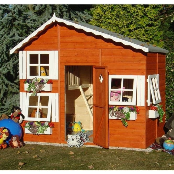 Click to view product details and reviews for Loft Play House Wih Upstairs Play Area And Ladder.