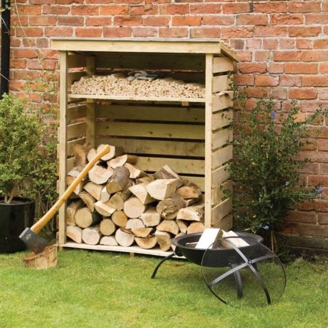 Click to view product details and reviews for Log Store Small.