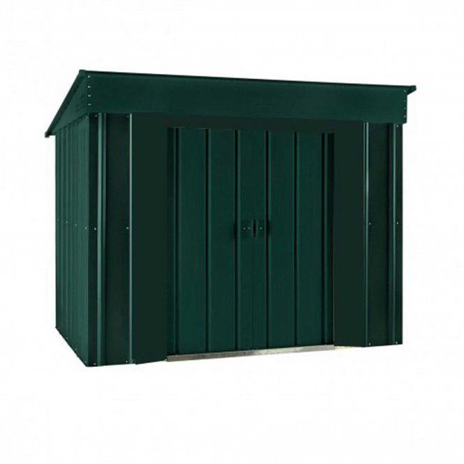 Click to view product details and reviews for Lotus 6 X 4 Low Pent Metal Shed.