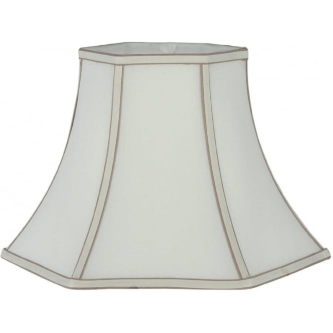 Click to view product details and reviews for Lyla Silk Effect Bowed Lamp Shade 50cm.