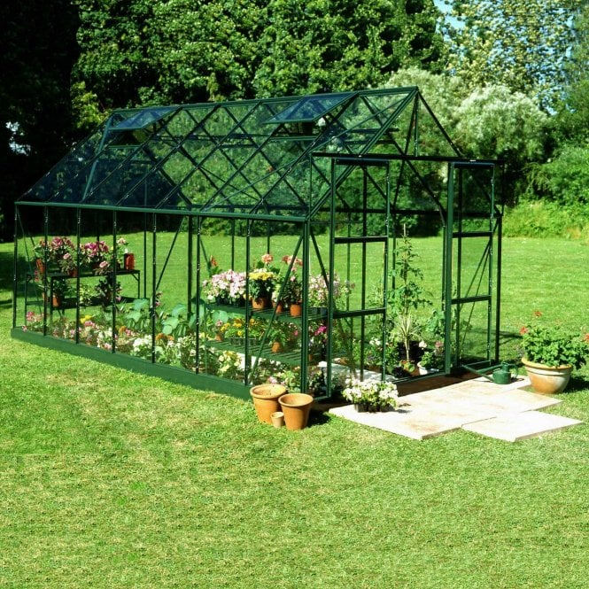 Click to view product details and reviews for Magnum 8ft X 12ft Greenhouse Green.