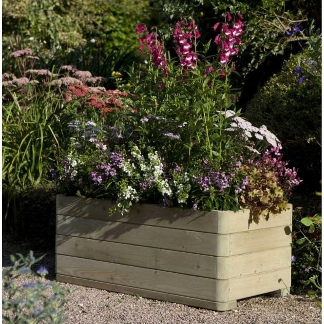 Click to view product details and reviews for Marberry Rectangular Planter.