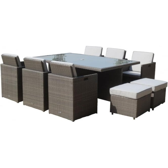 Marlow 10 Seater Cube Set