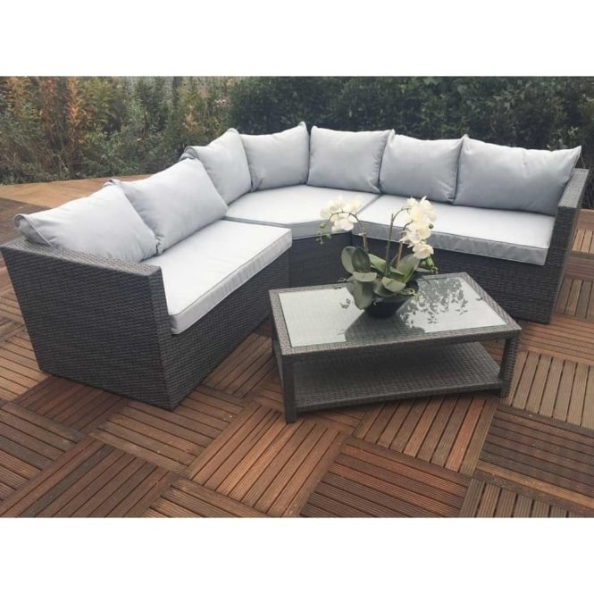 Click to view product details and reviews for Marlow 4 Piece Corner Lounge Set.