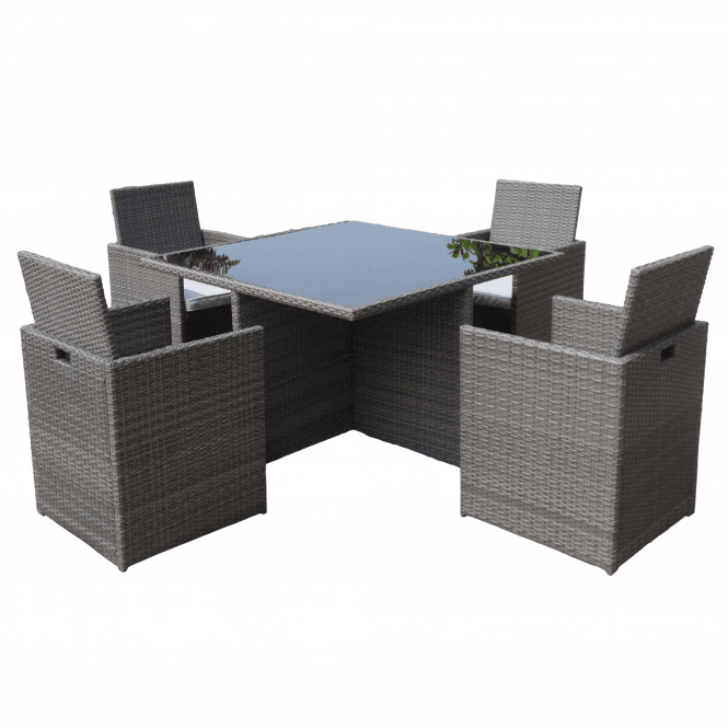 Click to view product details and reviews for Marlow 4 Seater Cube Set.
