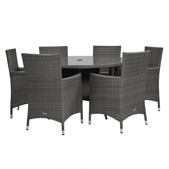 Click to view product details and reviews for Marlow 6 Seater Round Dining Set.