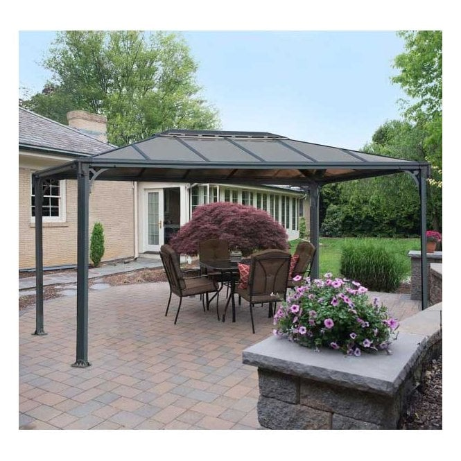 Click to view product details and reviews for Martinique 3600 Garden Gazebo Grey Bronze.