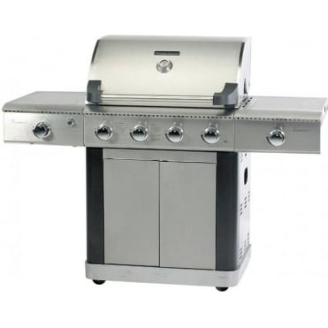 Platinum 600 Deluxe Gas BBQ 4 Burner With Side and Searing Burner