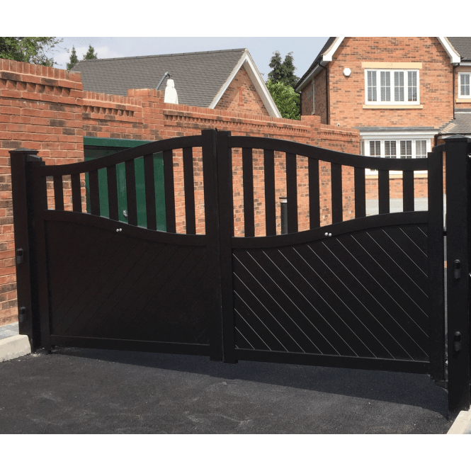 Click to view product details and reviews for Mayfair Aluminium Driveway Gate.