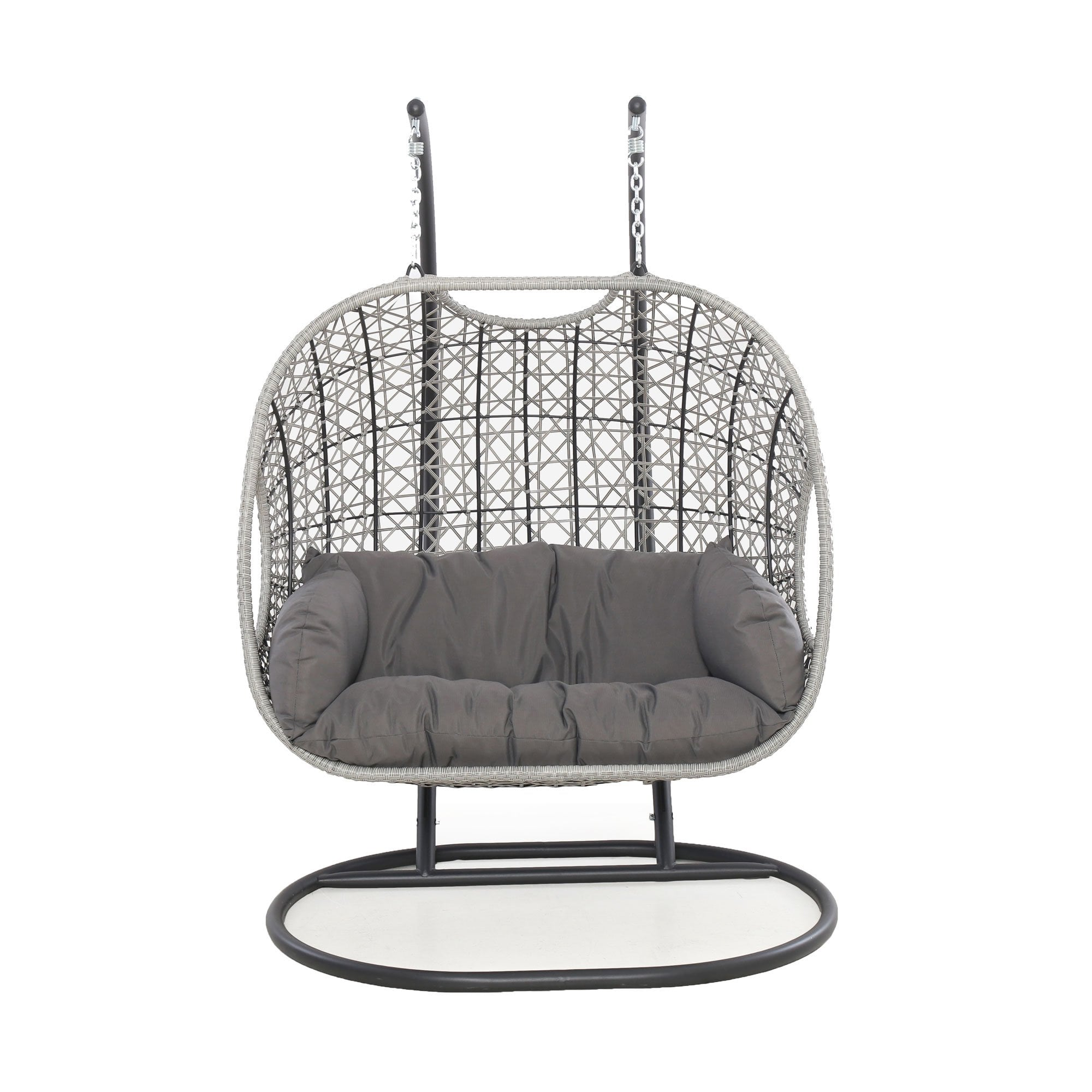 Maze Rattan Ascot Double Hanging Chair
