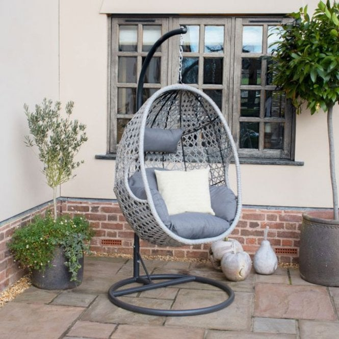 Click to view product details and reviews for Maze Rattan Ascot Hanging Chair.