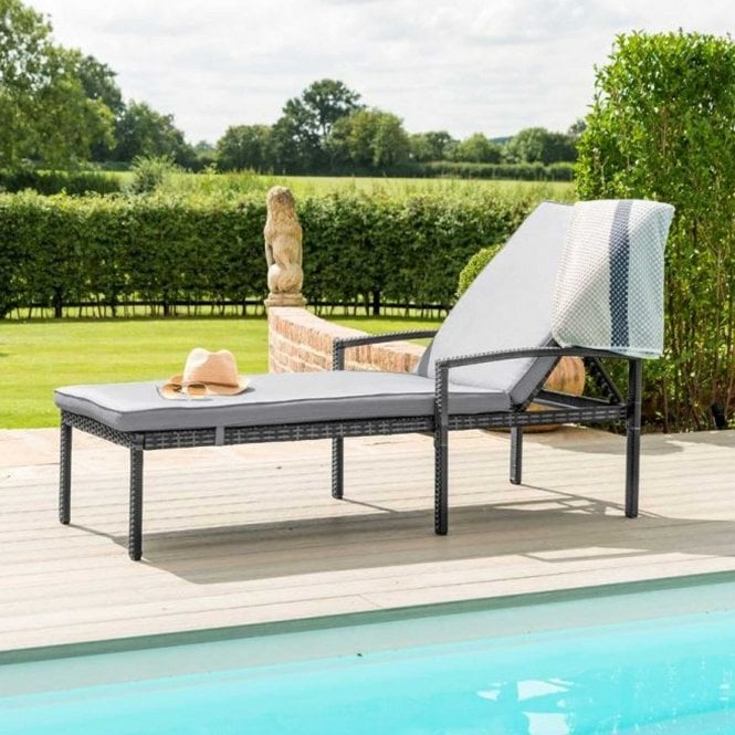 Click to view product details and reviews for Maze Rattan Austin Sunlounger.