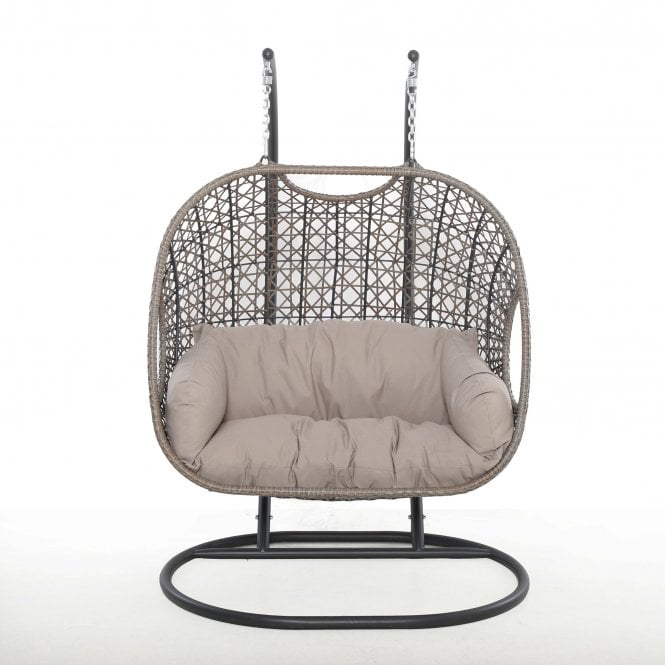 Maze Rattan Harrogate Double Hanging Chair