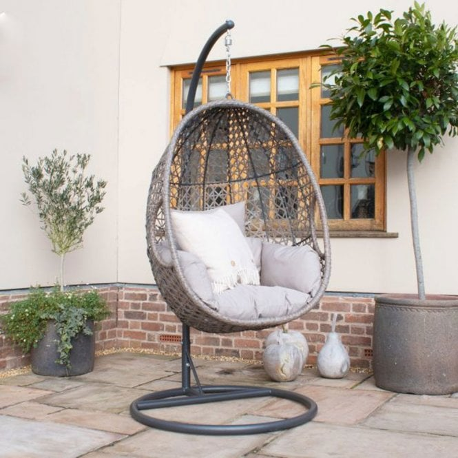 Click to view product details and reviews for Maze Rattan Harrogate Single Hanging Chair.