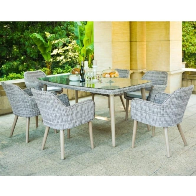 Paris 6 Seat Dining Set