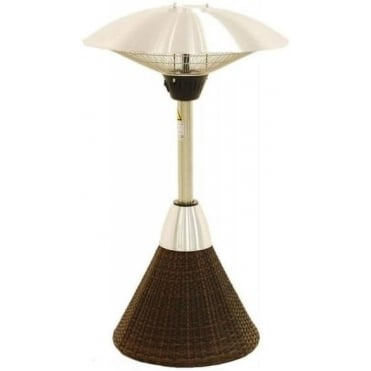 Maze Rattan Table Top Patio Heater
