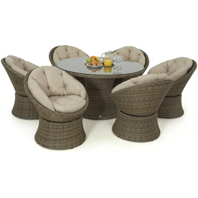 Winchester 6 Seat Swivel Dining Set