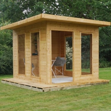 Mercia 10 x 10 Shiplap Cube Summerhouse