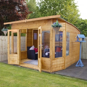 Mercia 10 x 10 Shiplap Helios Summerhouse