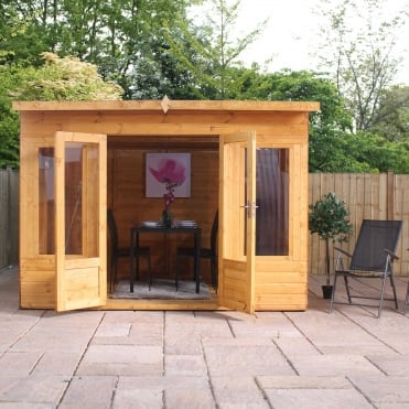Mercia 10 x 8 Shiplap Helios Summerhouse