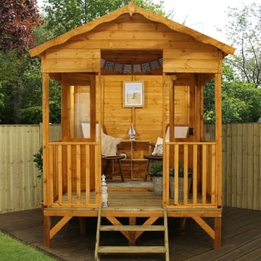 Mercia 11 x 8 Beach Hut Summerhouse