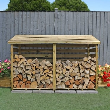 Mercia 3 x 6 Double Log Store