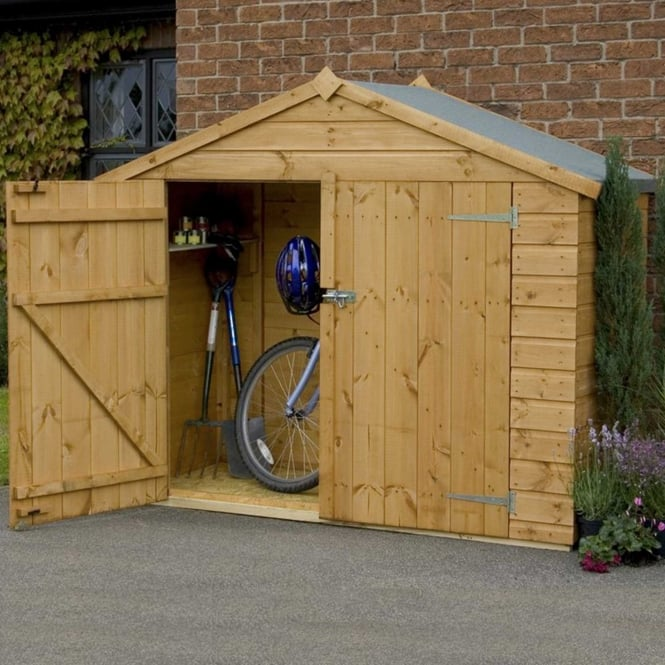 Click to view product details and reviews for Mercia 3 X 7 Shiplap Apex Bike Store.