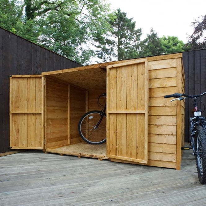 Click to view product details and reviews for Mercia 4 X 6 Overlap Pent Bike Store.