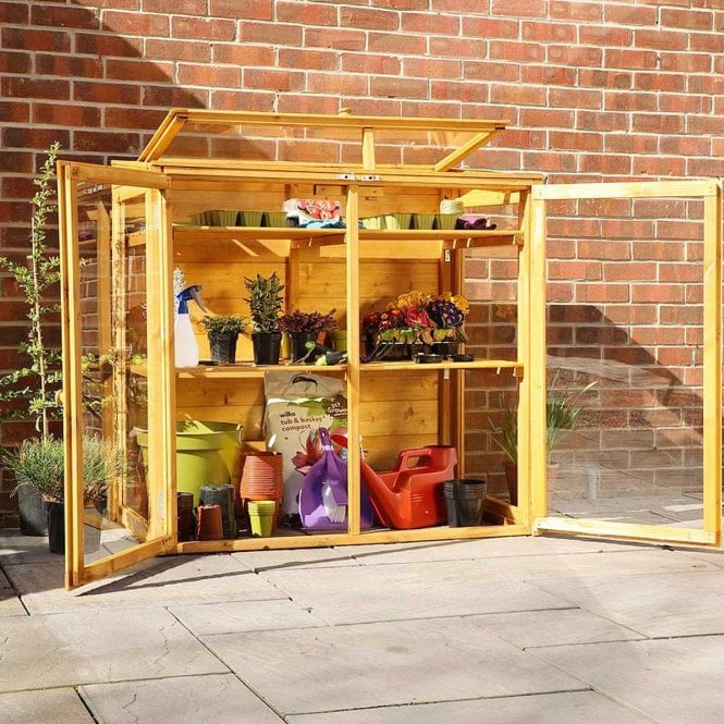 Click to view product details and reviews for Mercia 4x2 Mini Wooden Greenhouse.