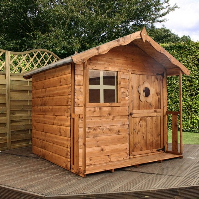 Click to view product details and reviews for Mercia 5 X 5 Shiplap Tulip Playhouse.