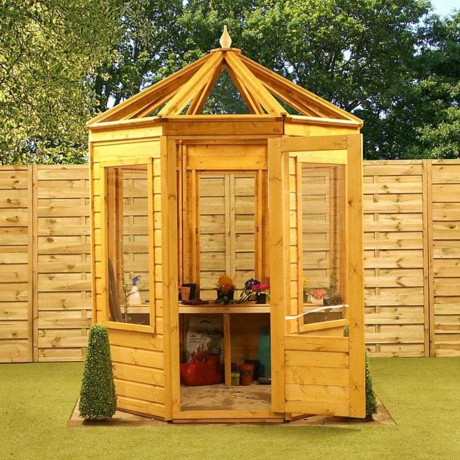 Click to view product details and reviews for Mercia 6x6 Octagonal Wooden Greenhouse.