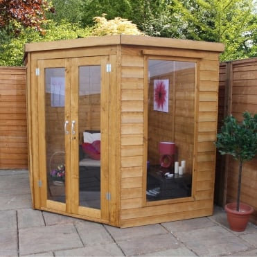 Mercia 7 x 7 Premium Corner Summerhouse