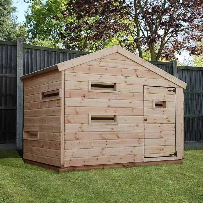 Click to view product details and reviews for Mercia 7x5 Hideout Playhouse.