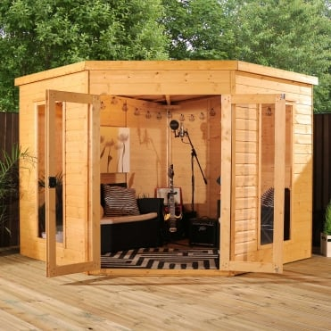 Mercia 8 x 8 Premium Corner Summerhouse