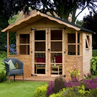 Mercia 8 x 8 Premium T&G Summerhouse