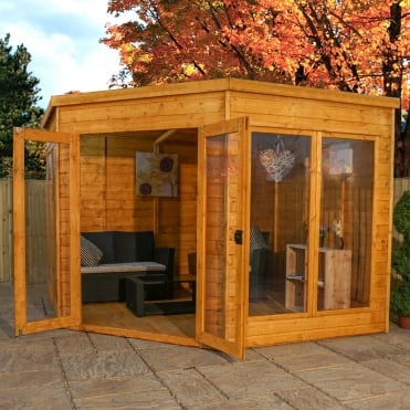 Mercia 9 x 9 Premium Corner Summerhouse