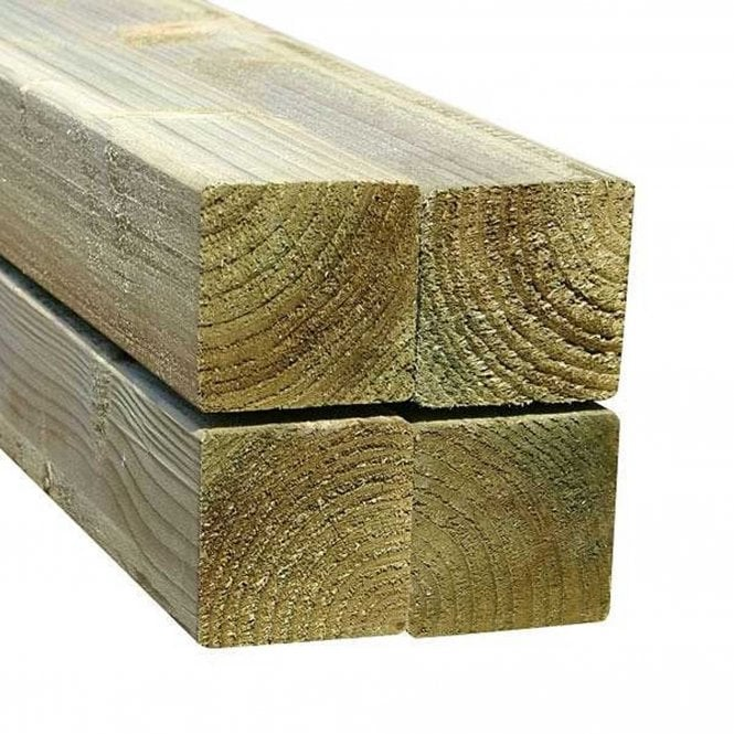 Click to view product details and reviews for Mercia Green Rough Sawn Fence Post 100mm.
