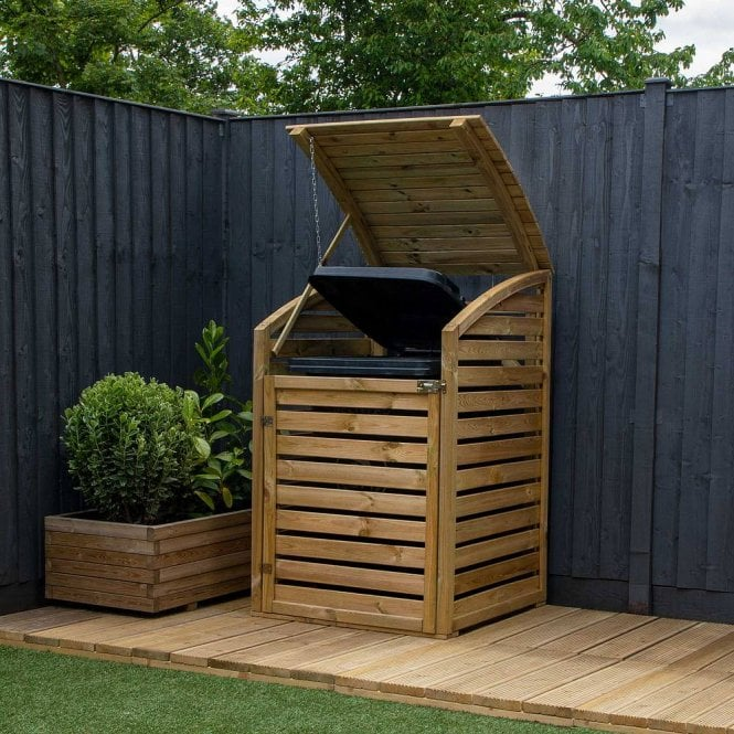 Click to view product details and reviews for Mercia Pressure Treated Single Bin Store.