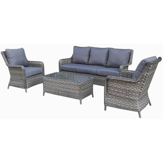 mia 3 seater rattan sofa set with coffee table in synthetic rattan rh gardenchic co uk rattan sofa set argos rattan sofa set argos
