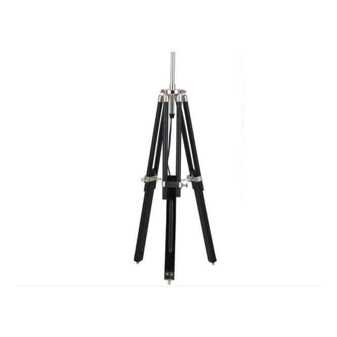 Milner Painted Wood Tripod Table Lamp Base