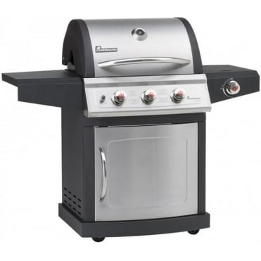 Miton 3 Burner Gas Barbeque with Side Burner