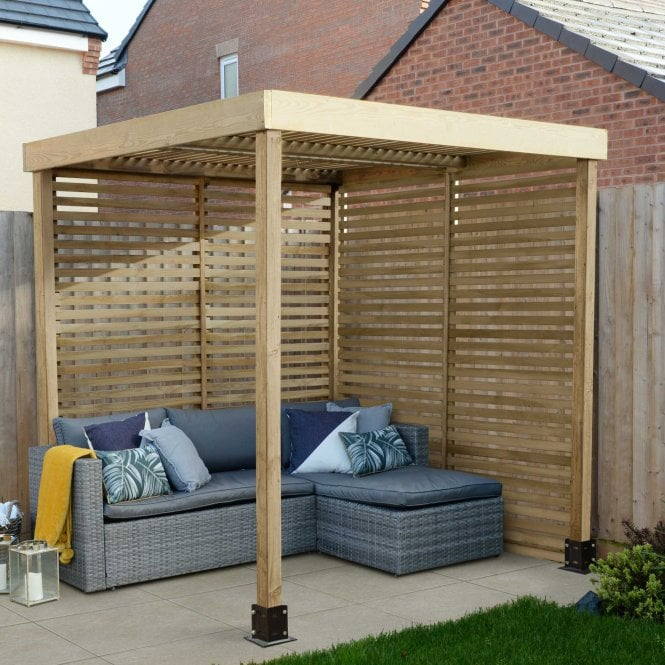 Click to view product details and reviews for Modular Pergola 2 Side Panels.