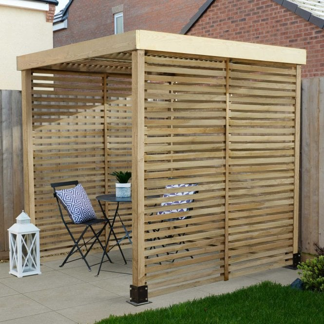 Click to view product details and reviews for Modular Pergola 3 Side Panels.